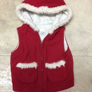 Baby girl Gymboree vest